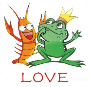 牛蛙爱上虾