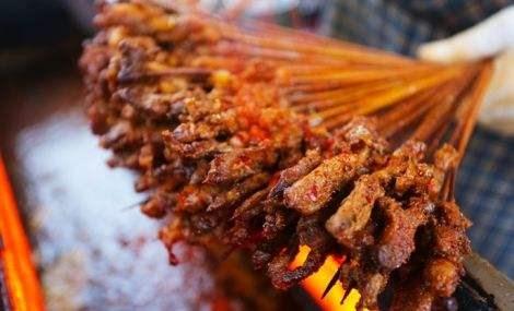 小竹签烤肉