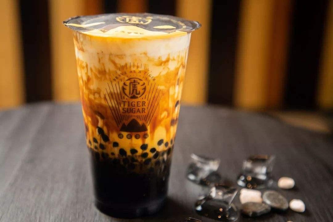 老虎堂黑糖奶茶