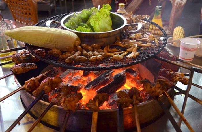 火焰山烧烤