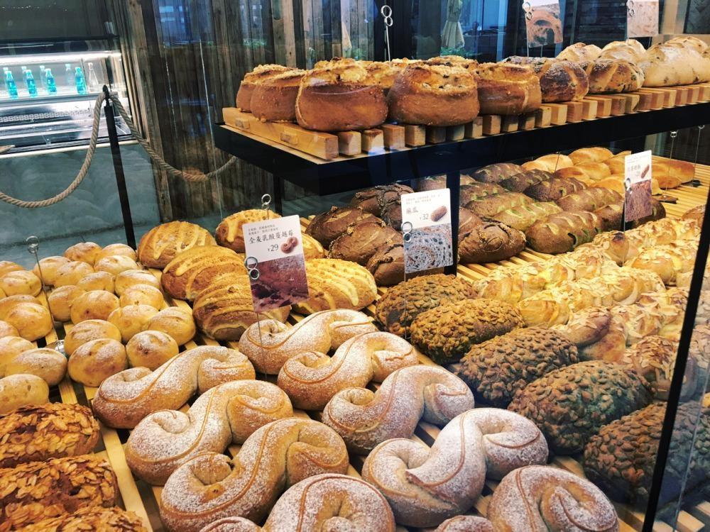 原麦山丘面包