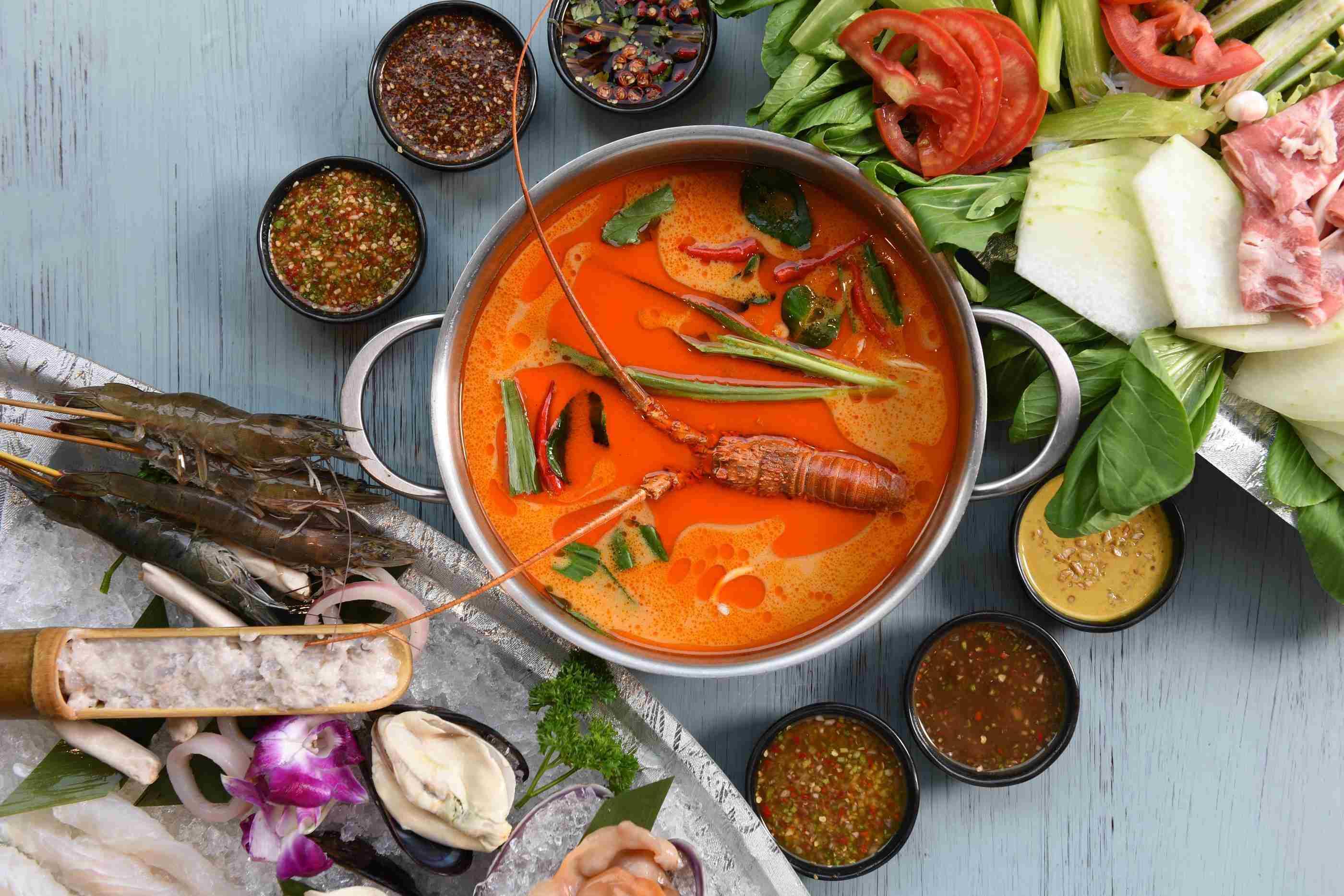 集渔泰式海鲜火锅