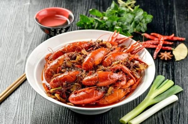 一口香龙虾