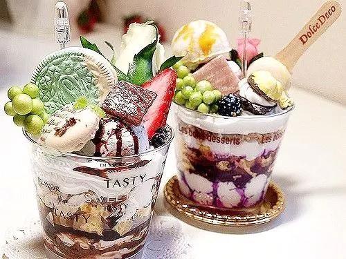 蜜粉儿冰淇淋与茶