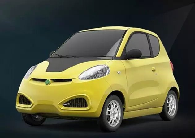 知豆电动汽车