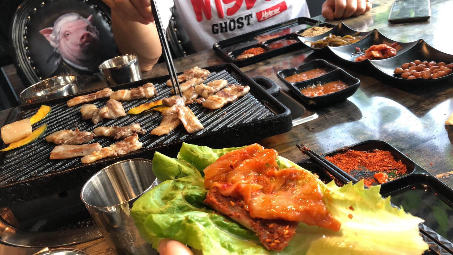 N2UBarbecue韩式熨斗烤肉