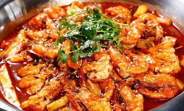阿熊大虾涮锅