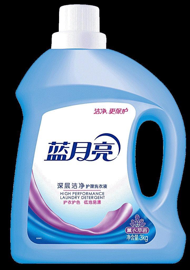 蓝月亮洗衣液